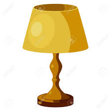 Yellow Lamp With Shade. Eps10 Royalty Free Cliparts, Vectors, And ...