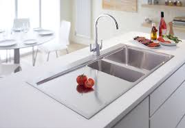 Drop In Kitchen Sink Vs Undermount Awesome Drop In White Farmhouse