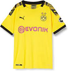 The inside of the jersey has the following lettering to celebrate the club's 110th anniversary: Amazon Com Puma Borussia Dortmund Home Kids Jersey 2019 2020 Clothing