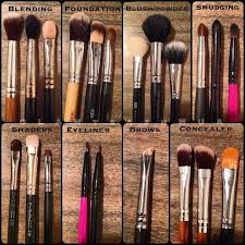 list of eye makeup brushes and their uses. my fave makeup brushes: (names from left to right) blending: hairandmakeupaddiction . list of eye brushes and their uses