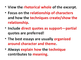 ap lit prose essay pointers scruggs prose essay tips based on 2007 feedback by mrs scruggs 2