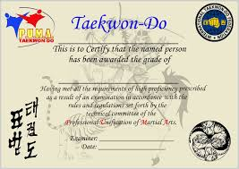 martial arts certificate template martial arts certificate template download archives inspirationa