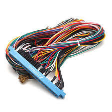 jamma harness replacement parts ebay How To Wire A Jamma Harness 28 pins jamma harness cabinet wire wiring loom for arcade game pcb video board how to install a jamma harness