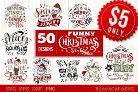 Craftbox this listing is perfect for crafters, designers and decorators that are looking for premade works. Funny Christmas Svg Bundle 50 Designs 352888 Svgs Design Bundles Christmas Svg Christmas Humor Design Bundles