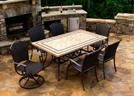 Stone Dining Room Table Furniture Fascinating Granite Dining Room Tables Round Stone Top