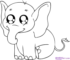 Easy Drawing Baby Kids Drawing Coloring Page Little Sketches