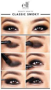 i know a clic smoky eye can be intimidating but practice these step by step instructions and you should be good