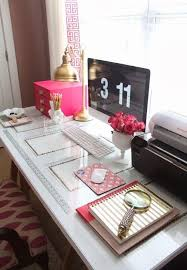 desks happy heart and desk areas on pinterest happy chic workspace home office details ideas