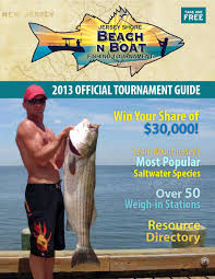 Barnegat Light Jetty Fishing Report 2013 Official Tournament Guide Magazine By Michael Young Issuu