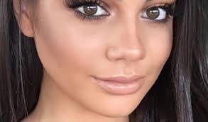 natural makeup for brown eyes