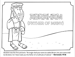 Small Picture Abraham Bible Coloring Pages Whats in the Bible