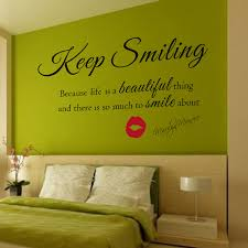 marilyn monroe wall decal keep smiling wall stickers beautiful wall quote vinyl decal nursery wall on marilyn monroe wall art quotes with marilyn monroe wall decal keep smiling wall stickers beautiful wall