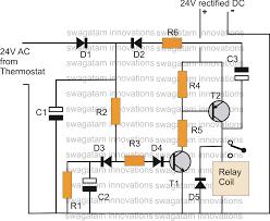 timer circuit diagram relay timer image thermostat delay relay timer circuit electronic circuit projects on timer circuit diagram relay