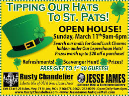 tipping our hats to st pats