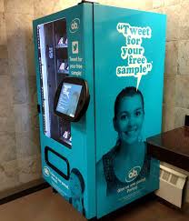 Female Vending Machine Extraordinary HyperTargeted Vending Vending Machines Cater To Niche Consumer