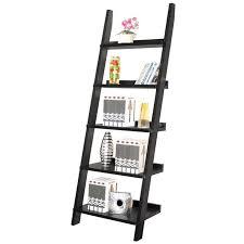 furniture ladder shelves. ladder shelf in black furniture shelves