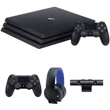 sony playstation 4 pro. sony playstation 4 pro gaming console kit with camera \u0026 extra accessories playstation n