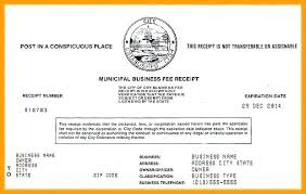 Fake Business License Template Theflawedqueen Com