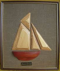 vintage retro carved wall art hand made wooden boat american offshore racer ship on wood boat wall art with 105 best ever rotating wall art images on pinterest wall art