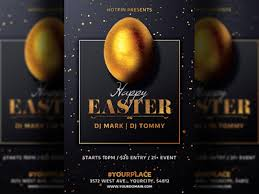 Easter Party Flyer Invitation Template By Hotpin On Dribbble