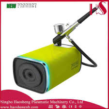 Gun Nail Art Designs China Hs M100dk Airbrush Compressor Suit Airbrush Beauty