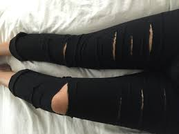 Make Pants How To Diy Distressed Jeans Because Its So Easy To Rip Your
