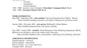 Examples Of Job Descriptions For Resumes business report templates ...