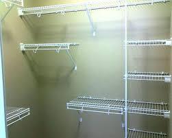 home depot closet shelving shelf wire enchanting