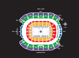 Air Canada Center Seating Map
