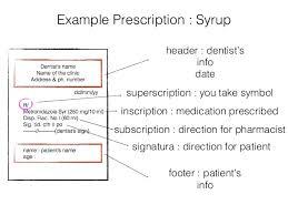 Dental Drugs Prescription