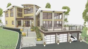 sloping lot house plans with basement best of 46 luxury sloped lot house plans walkout basement