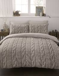 cable knit duvet this is gorgeous i want it