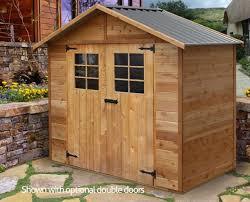 cedar shed wattle 8x4ft 2 5mx1 2m