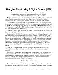 years of essay about contemporary art digital photography