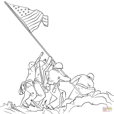 Professional Soldier Coloring Pages Free Printable Army For Kids