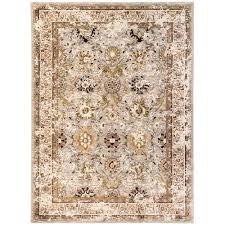 karastan wander seine silver 5 ft x 8 ft area rug