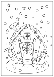 Small Picture Gingerbread House Coloring Pages To Print Free Coloring pages