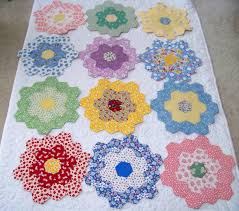 Attic Window Quilt Shop: GRANDMOTHER'S FLOWER GARDEN - HELP! & Recently Sue of The House that Love Built had a post about her progress on  her Grandmother's Flower Garden Quilt. I commented that I was working on  one too, ... Adamdwight.com