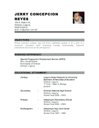 sample resume fresh graduate accounting student resume resume sample for  fresh graduate criminology resume for criminology