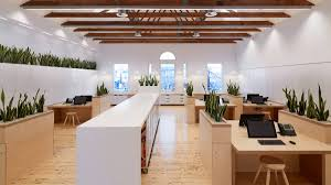 award winning office design. The Open-plan Office Features An Abundance Of Natural Materials. Photo: Peter Clarke Award Winning Design