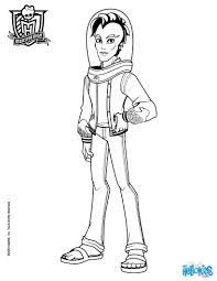 Small Picture Monster high boy coloring pages