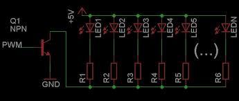 custom led color and brightness on a razer blackwidow ultimate Custom Mechanical Keyboard Wiring Diagram razer's backlight schematic Keyboard PS 2 Pinout