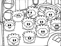 Small Picture Club Penguin Coloring Pages coloringsuitecom