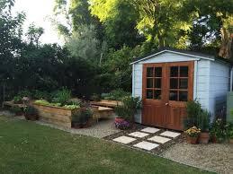 Backyard Landscape Designs On A Budget Magnificent Metal Garden Storage Box Sheds R Us Shed Easy Cheap Online Best