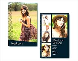 8 Comp Card Templates Free Sample Example Format Download