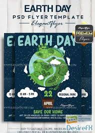Earth Day V1 2018 Flyer Psd Template Facebook Cover Work