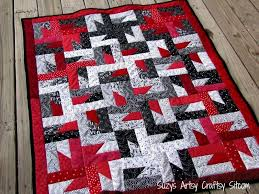 Secret to Speed: The Countless Possibilities of One-Block Quilts! & Windmills at Night Quilting Pattern Adamdwight.com