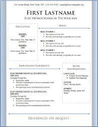 free curriculum vitae the best resume examples simple basic resume best word resume template