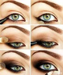 makeup for green eyes the cly bronze gold smoky cat eye