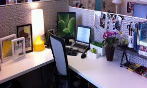 Office Cubicle Ideas For With L Shape Desk And Divider To Decor M
